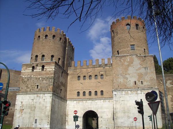 Porta San Sebastiano, Museo delle Mura, Roma