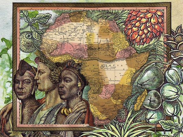Malala Andrialavidrazana (Madagascar 1971), Figures 1850, Various Empires, Kingdoms, States and Republics, 2015, Pigment print on Hahnemuehle cotton rag, laminated on aluminium and framed under glass, 148.7 x 116 x 5 cm | Courtesy of Private collection