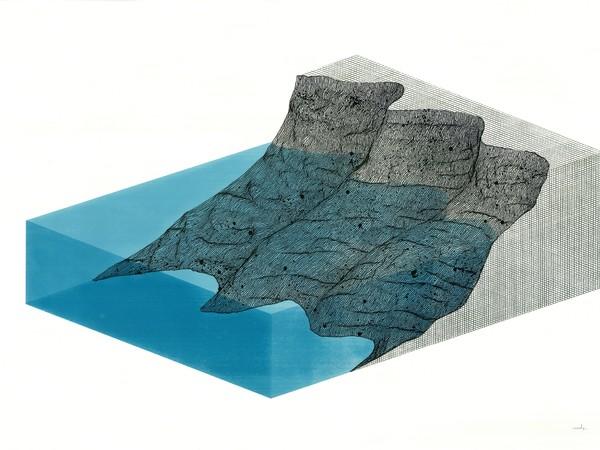 Ciredz, Erosion 5, ink on paper, 107x68 cm.