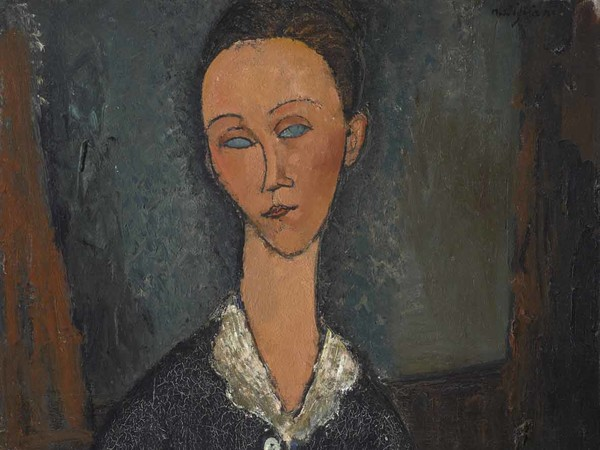Amedeo Modigliani, Femme au col blanc, 1917. Olio su tela I Musée de Grenoble
