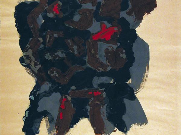 Leoncillo, Senza titolo, 1958. Tempera su carta