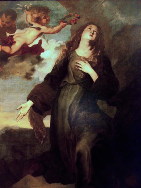 Santa Rosalia incoronata dagli angeli