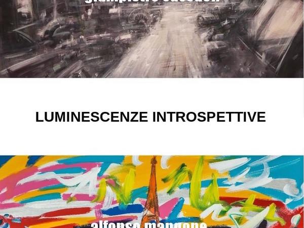 Luminescenze introspettive. Fernando Alfonso Mangone e Giampietro Cavedon