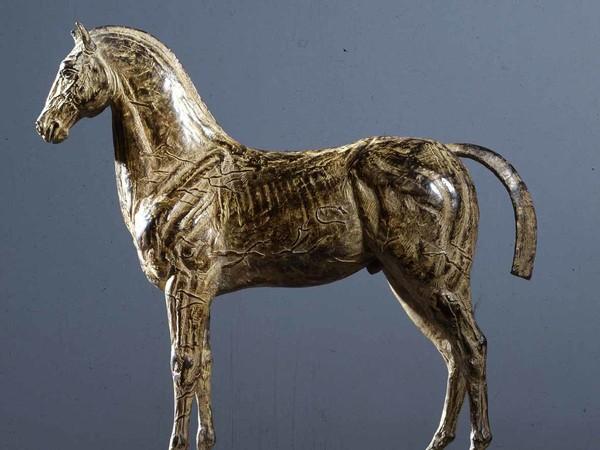 Ivan Theimer, <em>Cavallo</em>, Bronzo, 43 x 38 x 12.4 cm<br />
