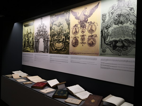Filippo Juvarra regista di corti e capitali dalla Sicilia al Piemonte all'Europa, Sala Juvarra, Biblioteca Nazionale Universitaria di Torino
