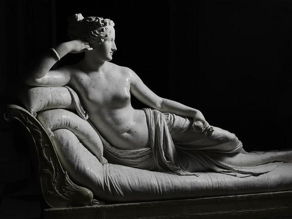 Antonio Canova, Paolina Borghese come Venere Vincitrice, 1804-1808, Gesso, Museo Gypsotheca Antonio Canova, Possagno | Ph. Lino Zanesco