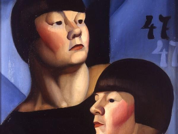 Tamara de Lempicka, Il doppio 47, 1924 circa. Olio su tavola, 46x37 cm. Collezione privata © Tamara Art Heritage. Licensed by MMI NYC/ ADAGP Paris/ SIAE Roma 2015