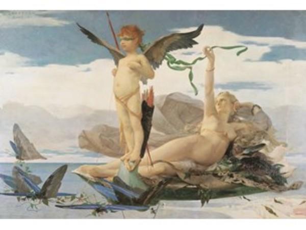 Édouard Toudouze, Éros et Aphrodite, 1872. Rennes, Musée des Beaux-Arts