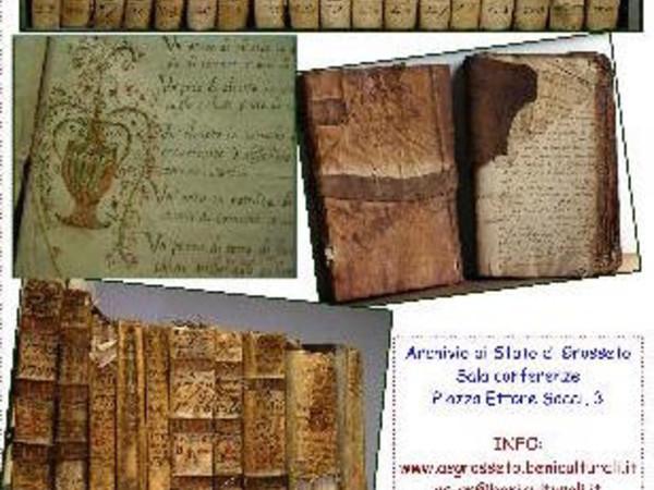 Sabato in Archivio. Incontri e Conferenze, Archivio di Stato di Grosseto