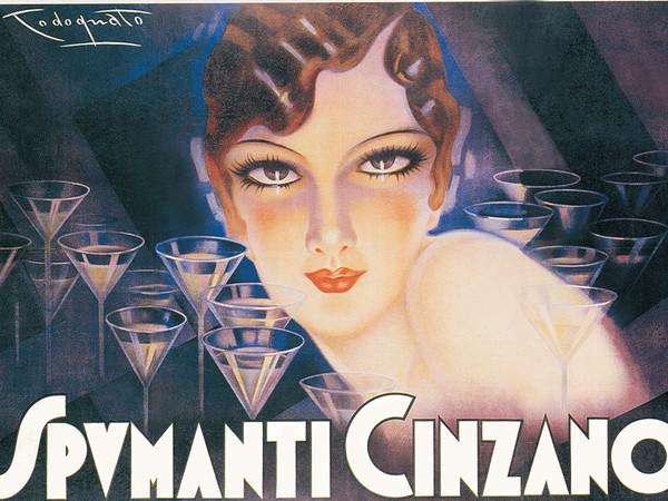 Plinio Codognato, <em>Spumanti Cinzano</em>, 1930 | Courtesy of Galleri L'IMAGE, Alassio (SV)<br />