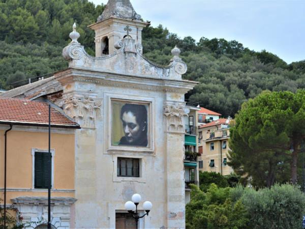 Rasha di Adrian Paci, Chiesa di San Francesco, Noli (SV), facciata