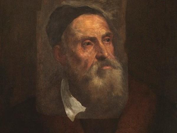 Ritratto di Tiziano Vecellio, olio su carta