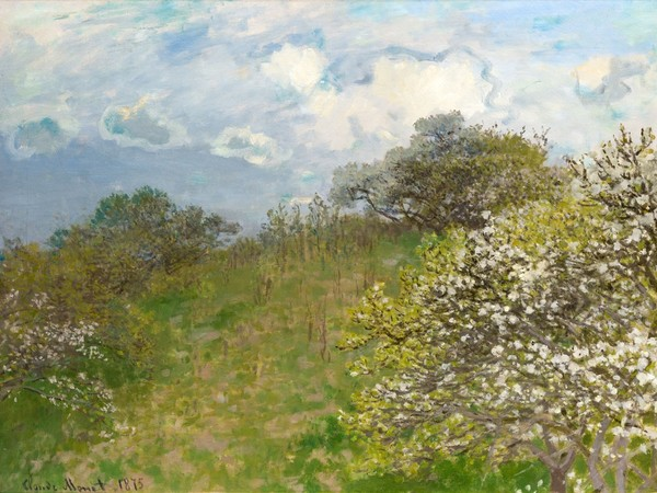 Claude Monet, Primavera, 1875, Johannesburg Art Gallery