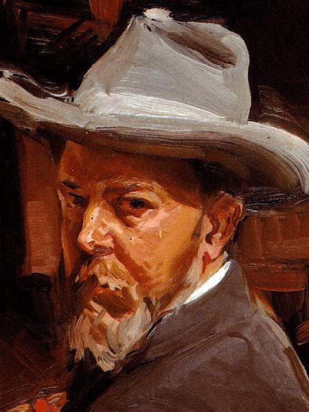 Joaquín Sorolla, Autoritratto, 1912