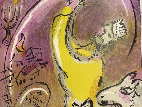 Marc Chagall, M 131 Salomon, Chagall Verve, 1956. Litografia, 36,4x26,3 cm. © Chagall®, by SIAE 2021