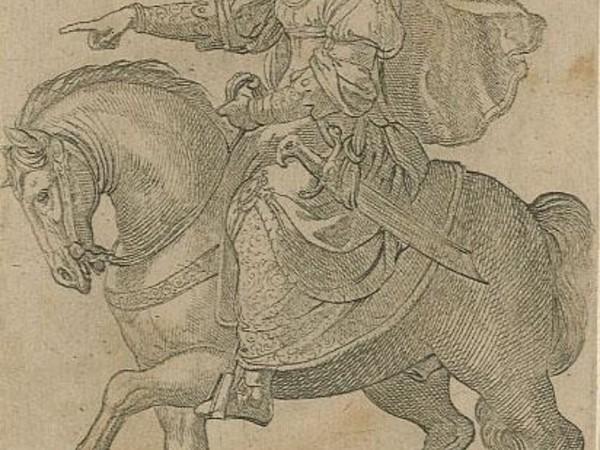 Antonio Tempesta, Bradamante Valorosa. Romae, Joannis Orlandi a Pasquino formis, 1597