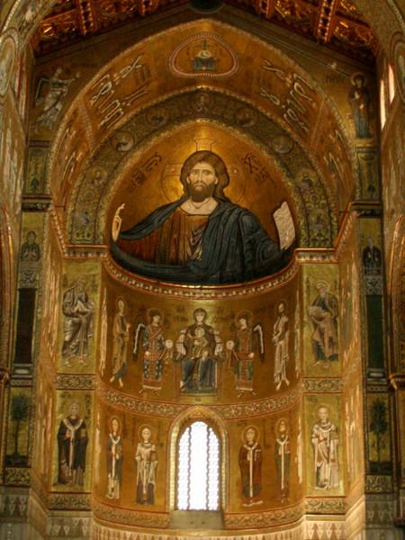 Mosaico di Cristo Pantocrator