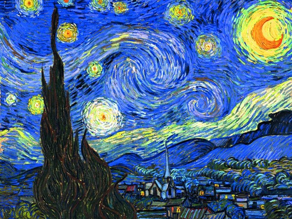 "Vincent Van Gogh, Starry Night. Dalla mostra ""Van Gogh Alive - The Experience"""