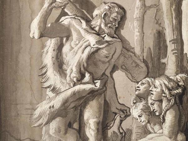 Giandomenico Tiepolo, Ercole e l'Idra