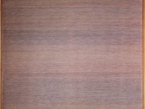Rosanna Rossi, Senza titolo, 1979 ante, olio e acrilico su tela di lino, 130x130 cm.
