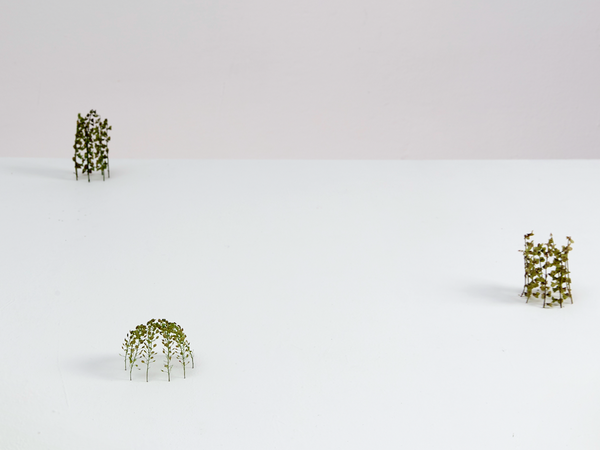 Christiane Löhr, Due piccoli cilindri + piccola cupola ovale, 2017
