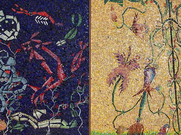 Mosaico di Riccardo Dalisi