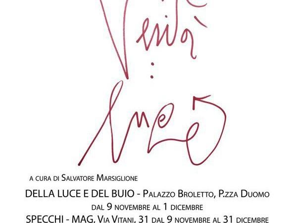 Adonis - Marco Nereo Rotelli. Della luce e del buio, Palazzo del Broletto, Como