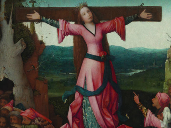 Jheronimus Bosch, <em>Trittico di Santa Liberata o Wilgerfortis</em>, 1497 circa, Gallerie dell'Accademia, Venezia