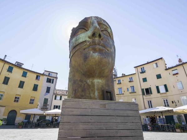 Igor Mitoraj, Tindaro, Piazza Anfiteatro, Lucca