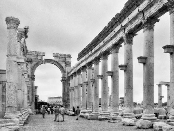 <em>La Via Colonnata e l&rsquo;Arco Severiano</em>, Palmira | Foto &copy; Elio Ciol