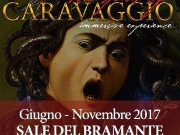 The Spirit of Caravaggio, Sale del Bramante, Roma