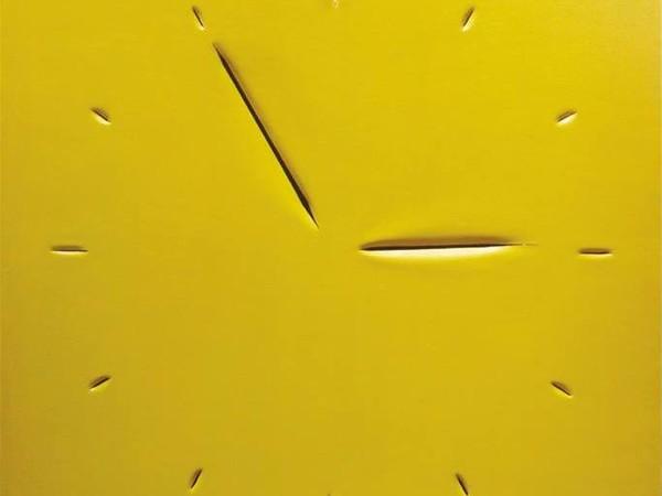 Antonino Zumbo, Attesa dell'ora, 2015, acrilico su tela, cm. 60x60