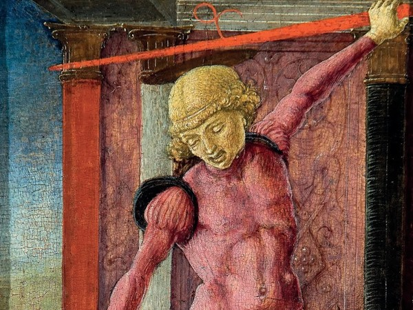 Cosmè Tura, San Giorgio, 1460-1465, Tempera su tavola, 13 x 21.6 cm, cm, Fondazione Giorgio Cini, Galleria di Palazzo Cini, Venezia