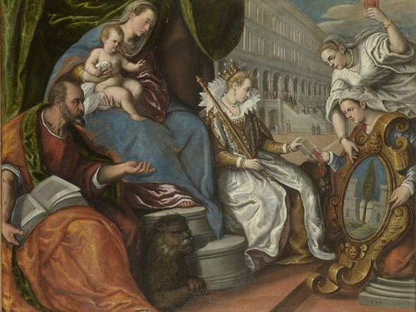 Cesare Vecellio, La dedizione del Cadore a Venezia, 1599