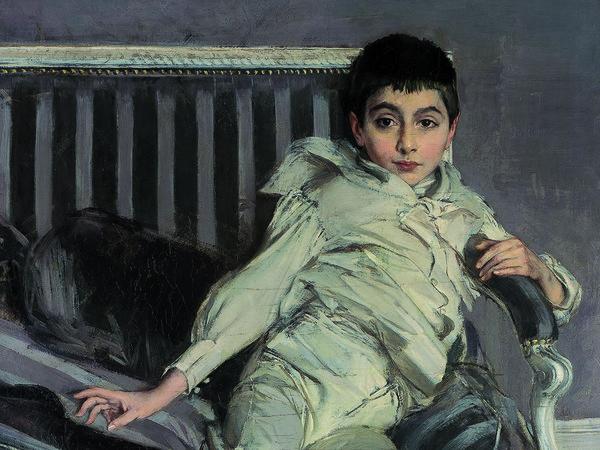 Giovanni Boldini, 1891, Ritratto del piccolo Subercaseaux, olio su tela, Museo Giovanni Boldini, Ferrara