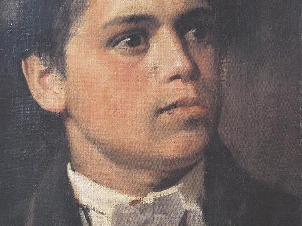 Giovanni Segantini, Autoritratto all'età di vent'anni, 1879-1880. Arco, Comune di Arco