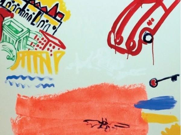 Francesco Salvi, Jolly Roger in Tour, olio su tela, 150x100 cm