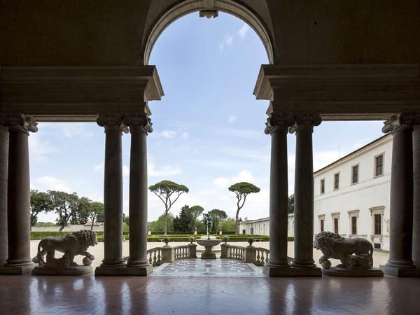 Villa Medici, Loggia ® Patrick Tourneboeuf, Tendance Floue