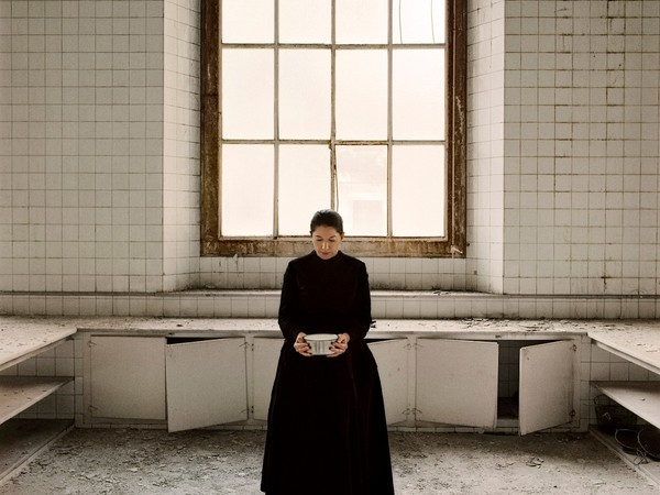 Marina Abramović The Kitchen V, Carrying the Milk From the series The Kitchen, Homage to Saint Therese Video installation, color 2009