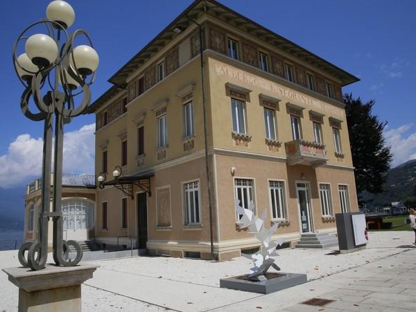 Sculture di Angelo Bozzola, Palazzo Verbania, Luino