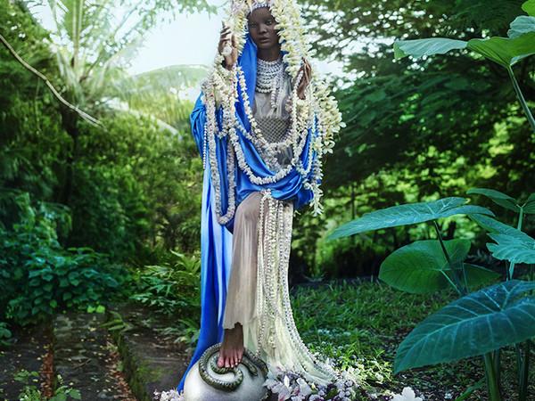 David LaChapelle, Virgin Mary, 2021, Los Angeles