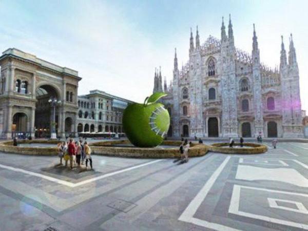 Michelangelo Pistoletto. Terzo Paradiso - La mela reintegrata
