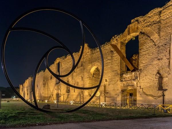 Terme di Caracalla, Roma, notturno