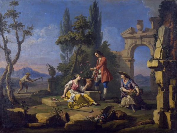 Giuseppe Zocchi (1711-1767), Modello per l'Allegoria della Terra, 1750, olio su tela. Firenze, Museo dell'Opificio delle Pietre Dure