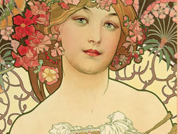 Alphonse Mucha, Reverie, 1897