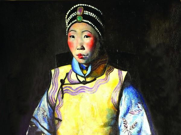 Primo Conti, Siao Tai Tai (La cinese, Liao Tai Tai), 1924, Olio su tela Roma, Galleria d'Arte Moderna | Courtesy of Galleria d'Arte Moderna, Roma