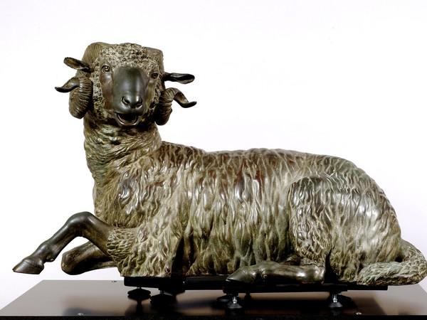 Ariete in bronzo, Museo Archeologico Regionale A. Salinas, Palermo