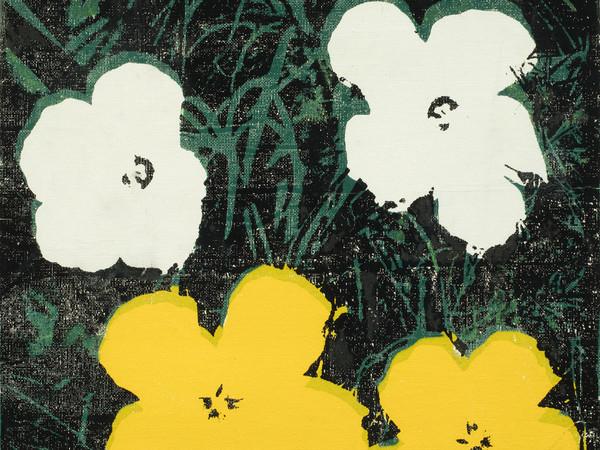 "<span style=""font-family: 'Times New Roman', serif;"">Andy Warhol, <em>Flowers</em>, 1964 , serigrafia e acrilico su tela</span><br /> <span style=""font-family: 'Times New Roman', serif;"">36 x 36 cm. Ph. Antonio Maniscalco <span style=""font-family: 'Times New Roman', serif;"">|</span> Collezione Pier Luigi e Natalina Remotti <span style=""font-family: 'Times New Roman', serif;"">|</span> Courtesy of GAMeC</span><br /> <br /> <br />"