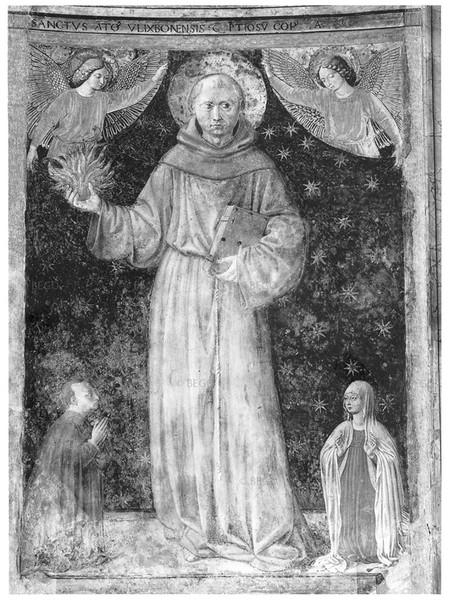 Sant'Antonio da Padova e Donatori
