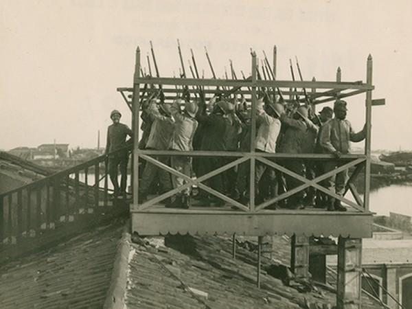 Venezia si difende 1915-1918, Casa dei Tre Coi, Venezia